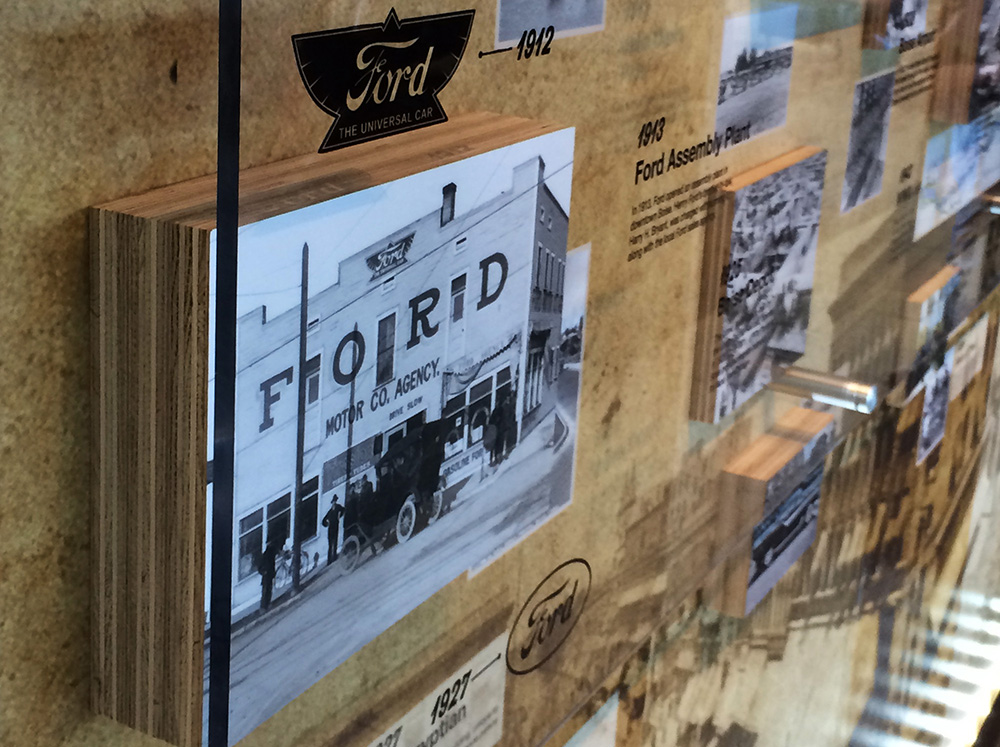 Lithia Ford Boise >> Ford Lithia 3D History Wall Exhibit | Catapult3