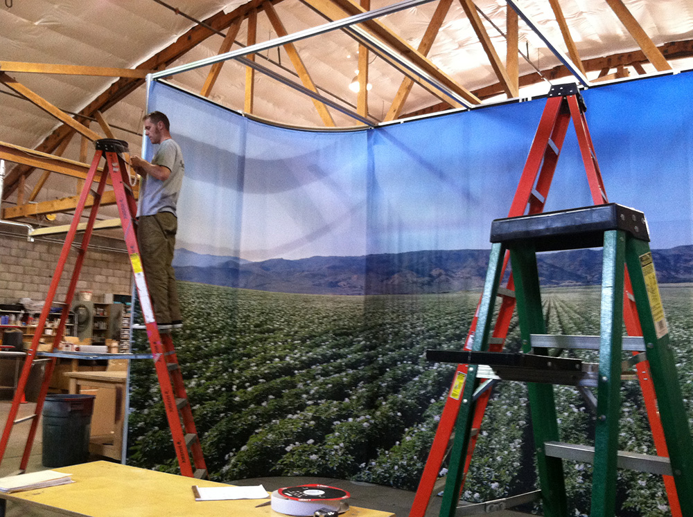 Lithia Ford Boise >> Preview of Idaho Potato Commission Booth | Catapult3
